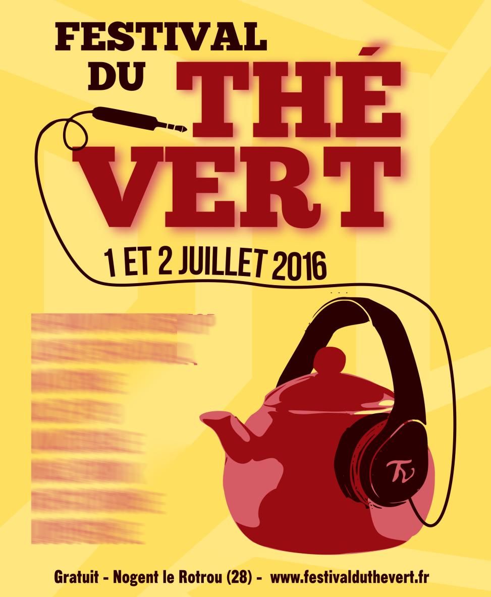 Festival du Thé Vert 2016 - Poster proposition 1