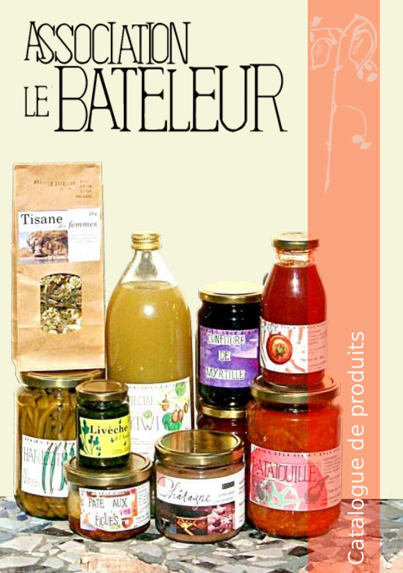 """Catalog of the organisation """"Le Bateleur"""" - Front Cover"""
