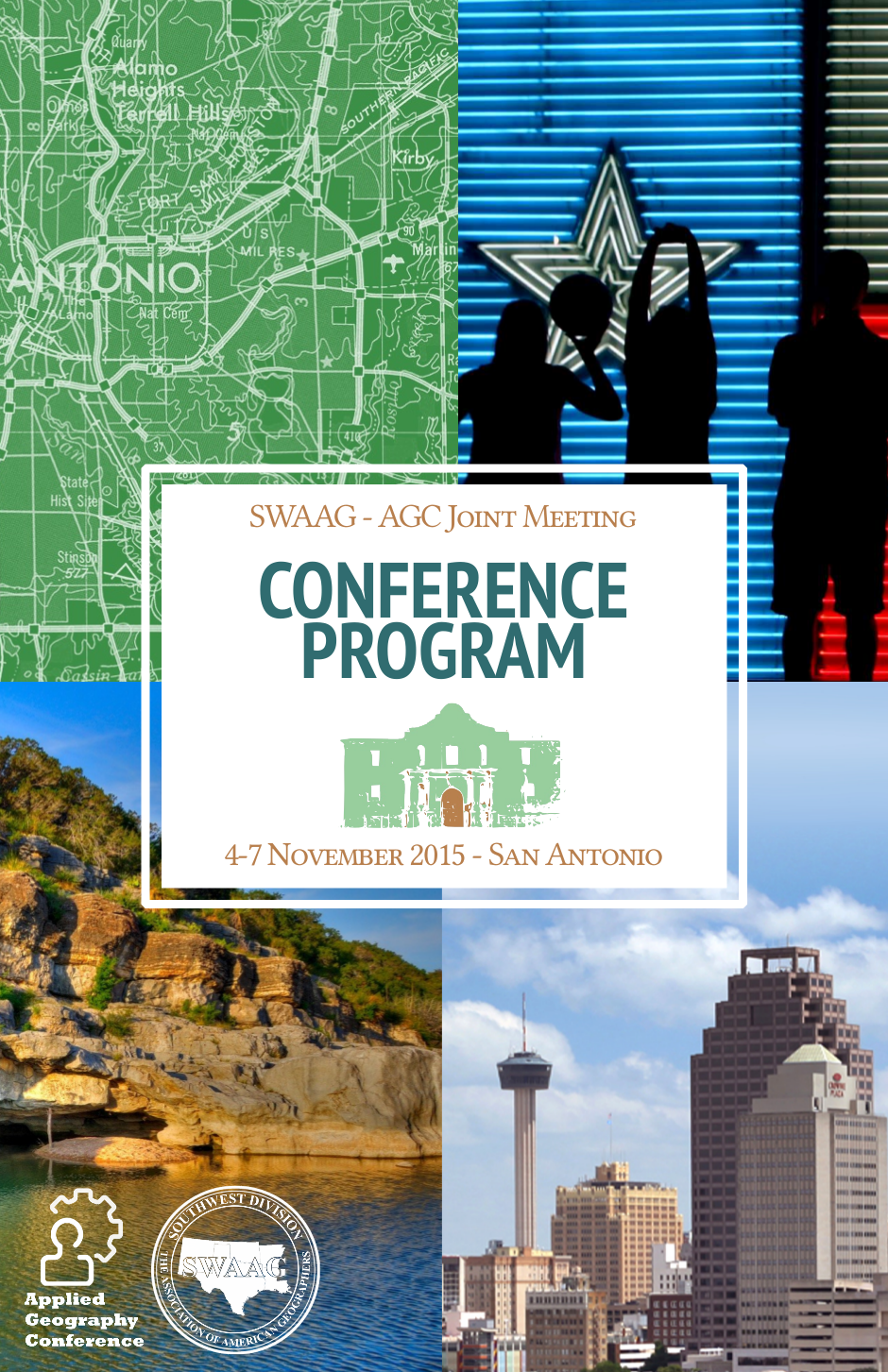 SWAAG/AGC 2015 conference program - Cover