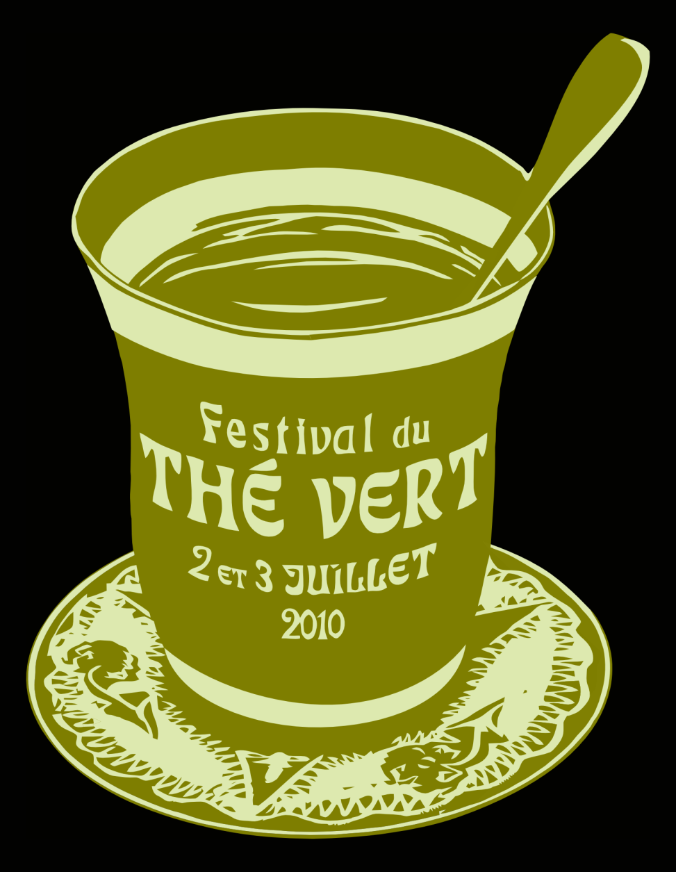Festival du Thé Vert 2010 - Front T-Shirt