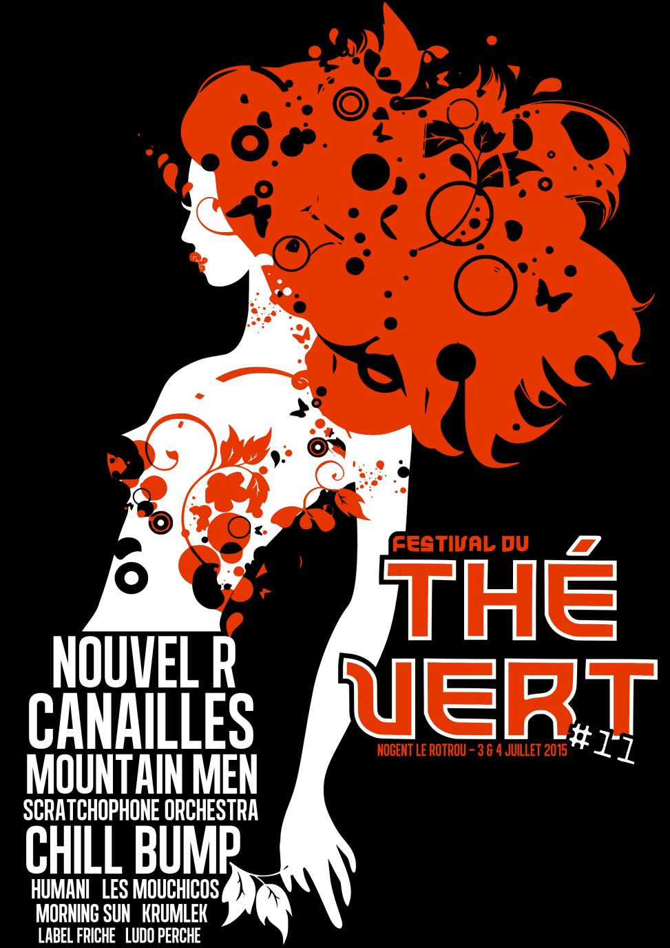 Festival du Thé Vert 2011 - Back T-Shirt