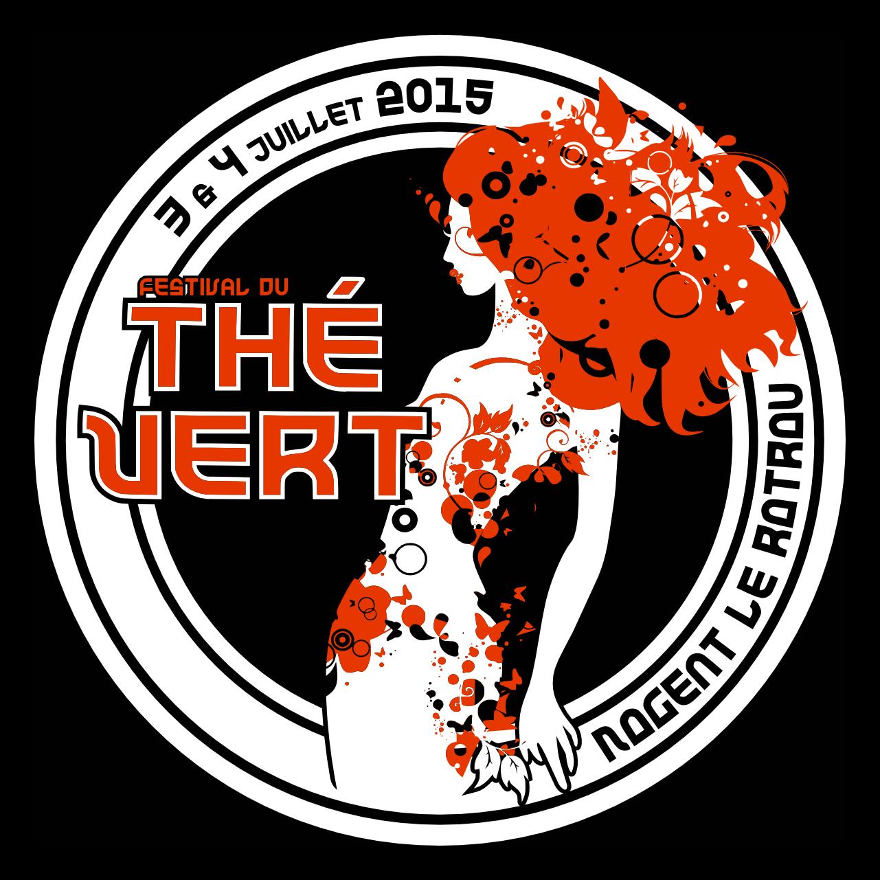 Festival du Thé Vert 2015 - Front T-Shirt