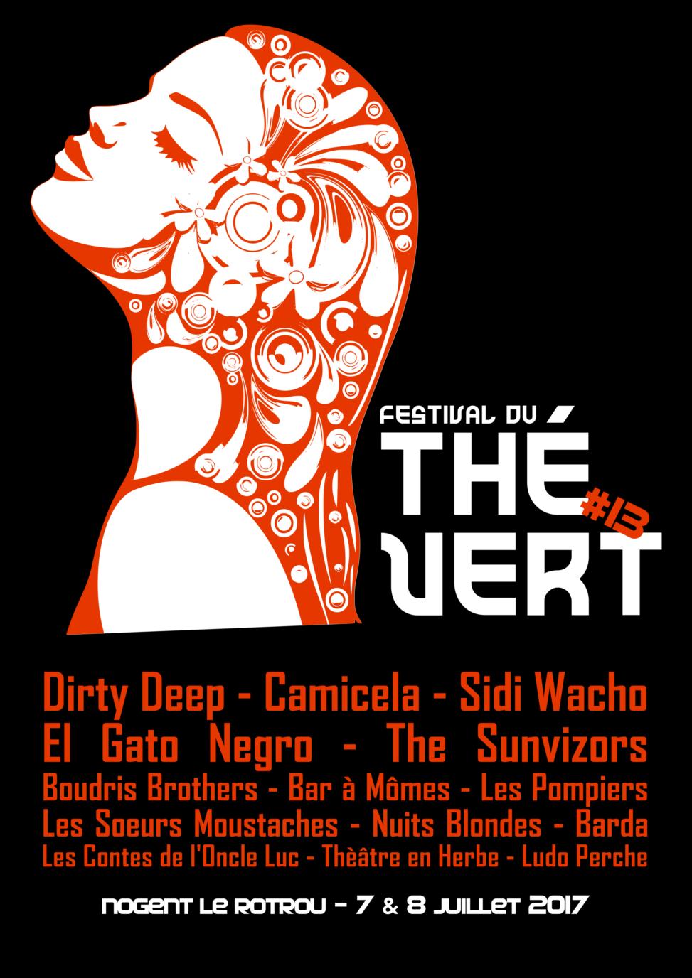 Festival du Thé Vert 2016 – T-Shirt arrière