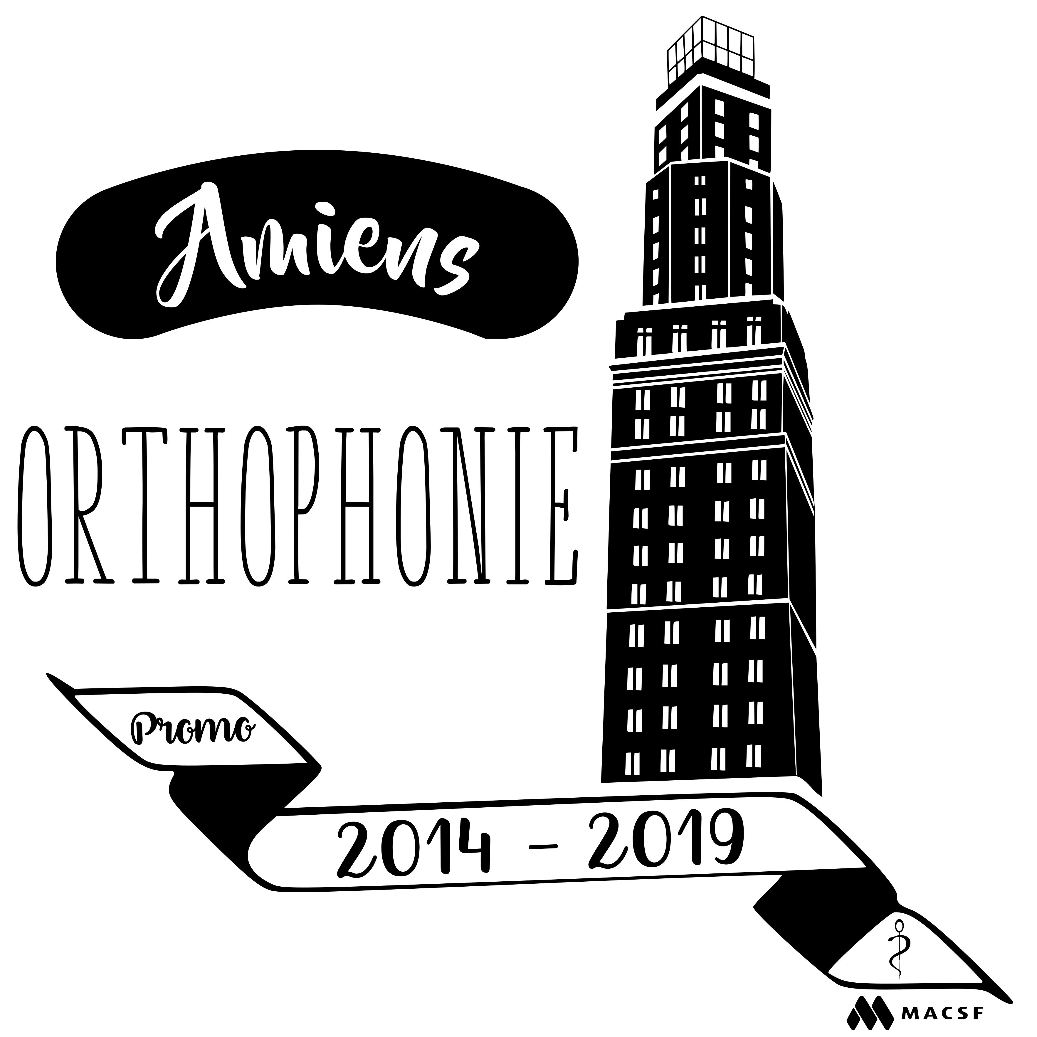 Tote bag pour les étudiants en Orthophonie d'Amiens